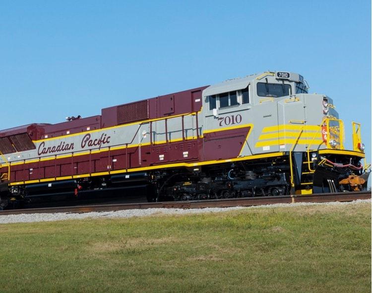 Kelly Coated locomotive engine