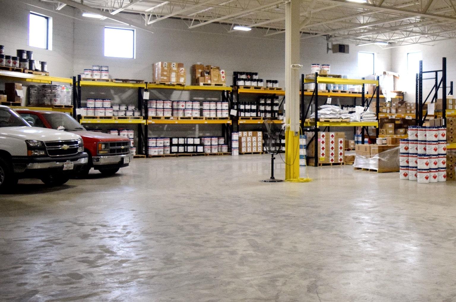 coating warehouse